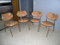 60's Kitchen Chairs