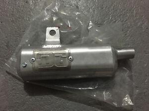 Dg silencer for a 1985 cr 125