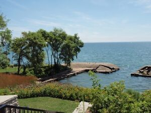 TWO BEDROOM LIVING ON THE EDGE OF LAKE ONTARIO