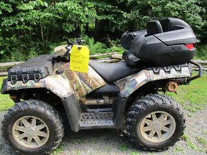 2012 polaris sportman 850hd