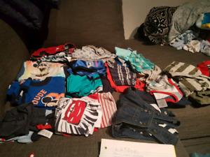 Infant boys lot... summer short an shirt sets