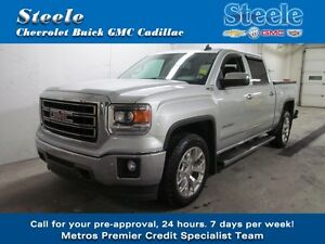 2015 GMC SIERRA 1500 SLT One Owner Crew Cab w/ Leather