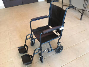Drive Foldable Transport Chair