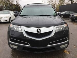 2011 ACURA MDX AWD * LEATHER * SUNROOF * REAR CAM * NAV * DVD *  London Ontario image 9