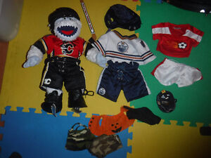 Build a Bear - Flames and Oilers