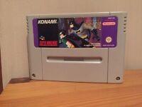 Rare Super Nintendo /SNES game Batman & Robin