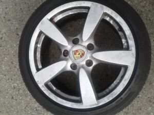 18 in porcsha rims and tires