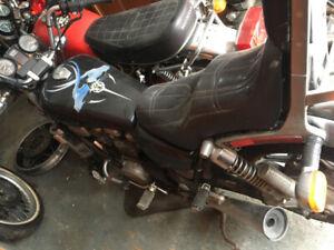 Moto Honda Shadow pour pièces