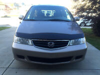 2003 Honda Odyssey Gold EX - Priced to sell