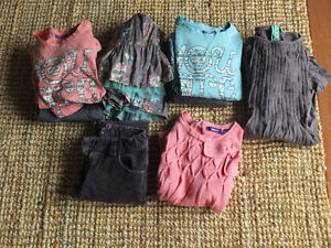 Lot de vêtements 5-6 ans MEXX fille couleur Rose-Gris