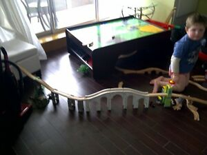 train set-wooden