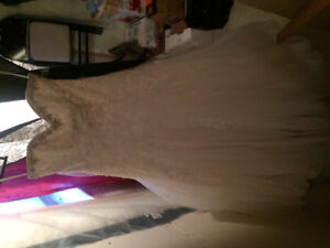 Excellent condition Mori Lee wedding gown and veil $1200