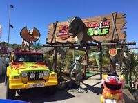 Santa Fe funpark staff wanted!