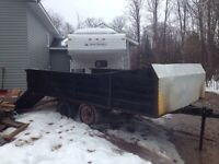 Tandem axle trailer for sale