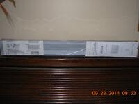 """NEW vinyl Mont St. Anne lt.gray 24"""" x 45""""verticals,unopened nos"""