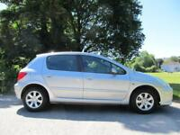 Peugeot 307 1.4 16v ( 90bhp ) 2005MY S petrol hatchback manual