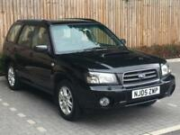 2005 '05' Subaru Forester 2.5 XTn, 5 Door Estate, MOV, 4x4, AWD, Petrol.