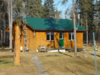 Cute 2 Bedroom Cabin on 75 acres near Kapuskasing