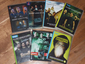 *PARANORMAL*GHOST ADVENTURES DVD SEASONS 1-5 AND MORE