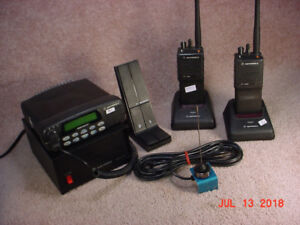 For Sale: VHF Base Stations with Mag Mt Ant & VHF Portables