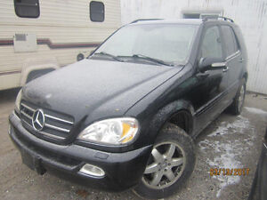 LAST CHANCE PARTS! 2002 Mercedes ML500 @ PICNSAVE WOODSTOCK!