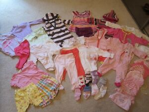 Baby Girl Clothes 3-6mo. sizes, Excellent Condition/Brand Names