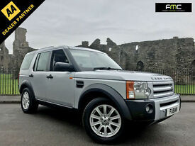 2008 Land Rover Discovery 3 2.7TD V6 auto **HSE Spec - Leather - Nav - FSH**