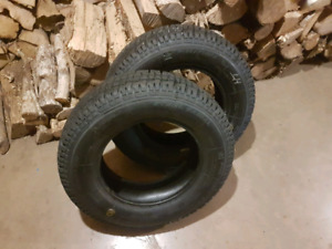 2 WINTER TIRES $100 FOR BOTH