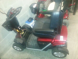 2013 Pride Pursuit XL 4-Wheel Scooter - Like New