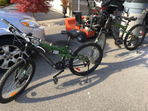 Two Kranked bikes for sale