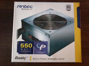 Alimentation pc Antec Basiq 550w