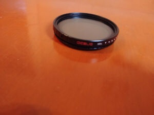 Genus variable ND Filter 58mm