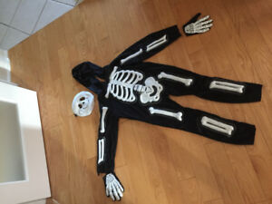 Skelebones Toddler/Child Costume Size 4-5