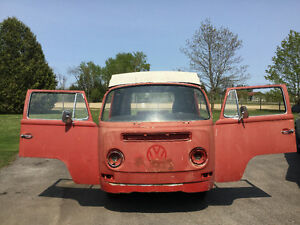 VW Westfalia 1970 projet