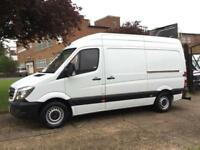 2013 63 MERCEDES-BENZ SPRINTER 2.1 313CDI MWB HIGH ROOF 130BHP NEW SHAPE. LOW 56