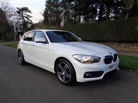 BMW 116 1.5 TD SPORT | 1 OWNER | AUTO | SAT NAV | CRUISE CONTROL | 2015 MODEL