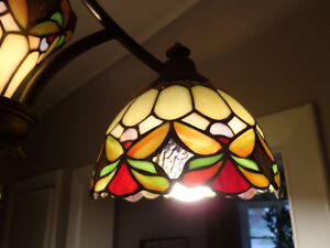 "Stained Glass ""Angel"" Ceiling Light"