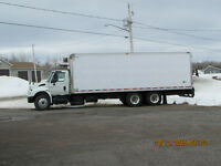 2007 International Reefer Truck