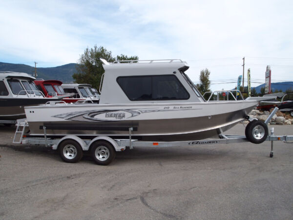 Used 2016 Hewescraft 210 SEARUNNER ET HT