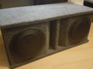 JL Audio Double 10w1v2 Subs