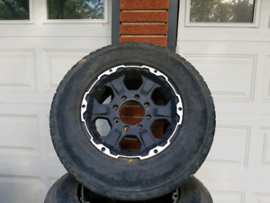 F250  Truck TIRE AND RIMS