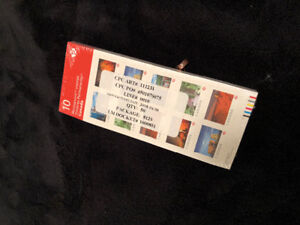 Permanent Canadian Stamps unopened package of 500!! Must go..