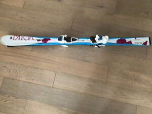 PROFESSIONAL SKIS FOR KIDS ACHICA VOIKI 140 GERMANY MADE 54.5 IN