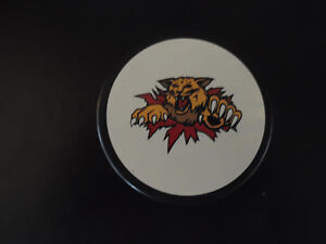 Moncton Wildcats Official Game Puck