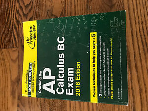 The Princeton Review AP Calculus BC Exam 2016 edition