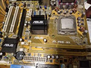 Asus P5B-MX, LGA775