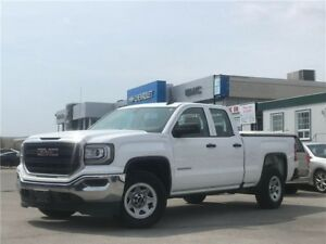 2016 GMC Sierra 1500 WT, DBL CAB, 4x4, ONE OWNER, NO ACCIDENTS