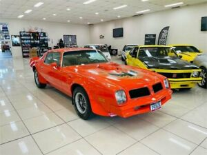 1976 Pontiac Firebird Trans Am Hugger Orange 3 Speed Automatic Coupe Carss Park Kogarah Area Preview