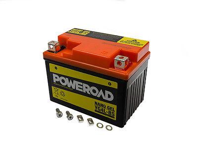 Batterie GEL Poweroad YTX4L-BS 4 AH Rex Scooter 50 2T  Bj. 1999-2005