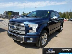2015 Ford F-150 Platinum|Twin Panel Moonroof|FX4 Off Road Pkg|Te